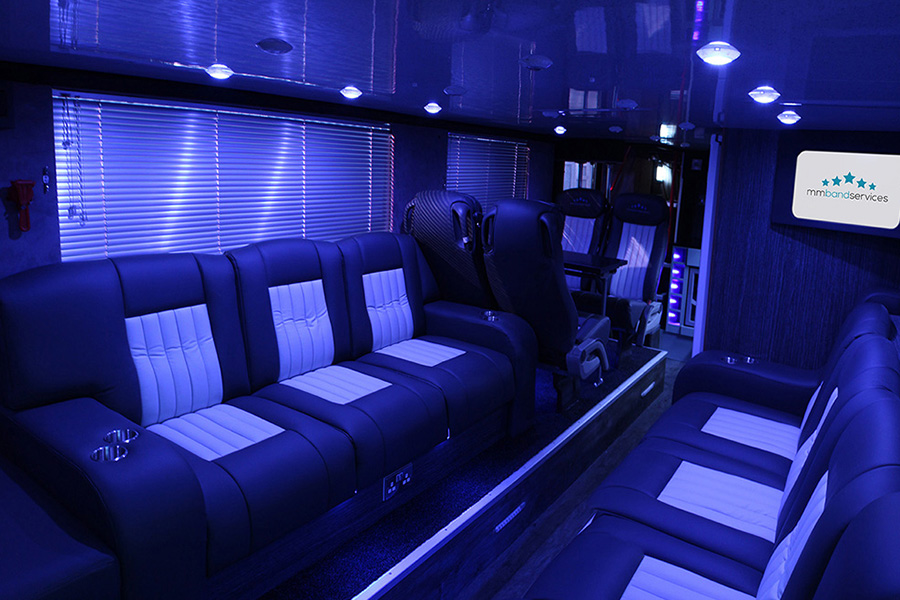 Check out our brand new double decker Sleeper Bus! - Band ...