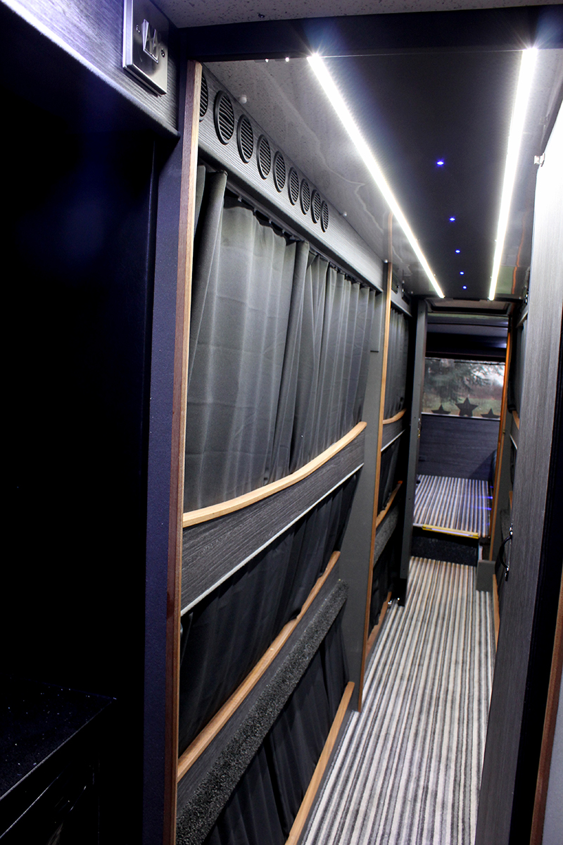 Check Out Our Brand New Single Decker Bus Band Tour Bus