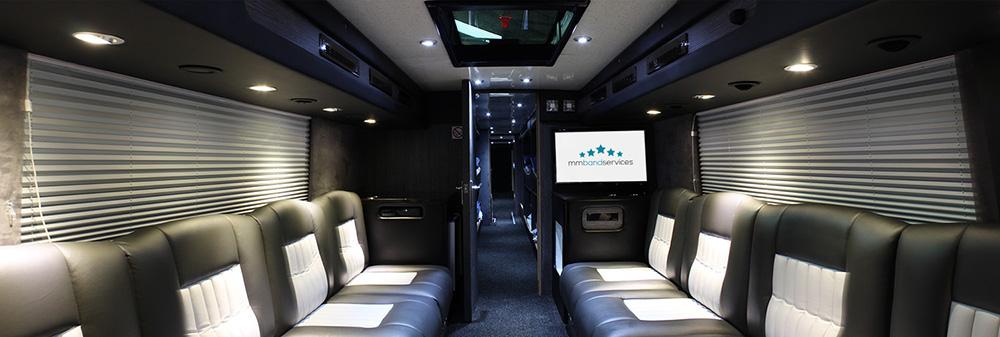 A sneak peak of our new Tour Bus