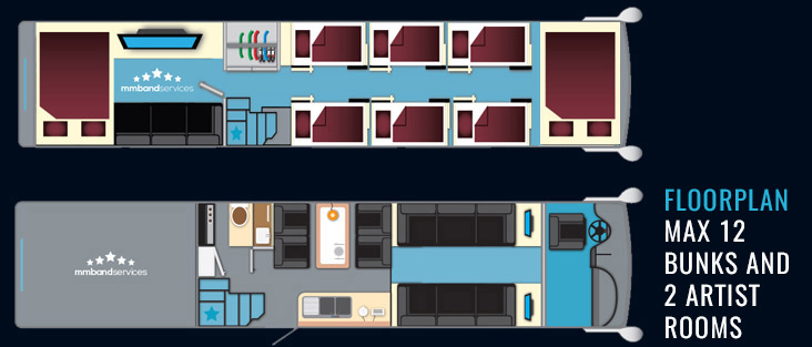 Starsleeper Band Tour Bus Sleeper Bus Band Transport Uk Europe